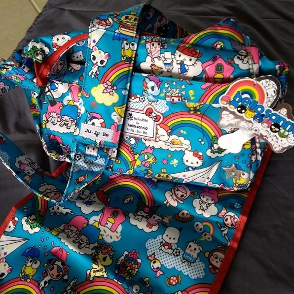 573297094b NWT Jujube Hobobe Diaper Bag in Rainbow Dreams